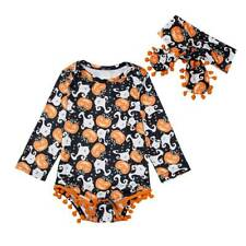 Toddler Kids Baby Boy Girl Costume Tops Pants Hat Fancy Dress Outfits Party Sets