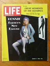 Life Australia magazine, March 4 1968 - Faye Dunaway cover