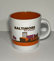 DUNKIN' DONUTS DESTINATION COFFEE MUG Baltimore Maryland 2013 Limited Edition