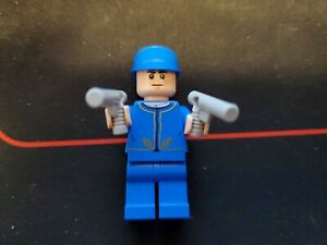 LEGO Star Wars Bespin Guard Minifigure Cloud City 75060 SW611 Blue Hat Regular