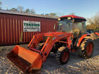2009 Kubota L3240 4x4 Hydro 32Hp Compact Tractor w/ Cab & Loader 1600Hrs