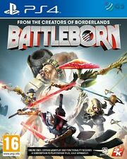 Battleborn & Firstborn Pack And Character Cards PS4 * NEW SEALED PAL *