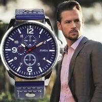 Luxury Men's Business Watch Stainless Steel Quartz Analog Boys Sport Wrist Watch