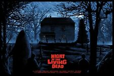 Night of the Living Dead Poster - Kilian Eng - Limited Edition of 250