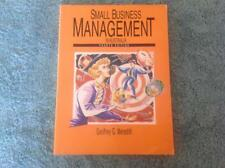Small Business Management in Australia (Fourth Edition) By G.G, Meredith Book