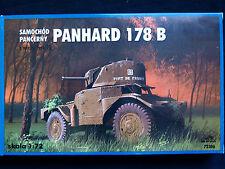 Panhard 178 b voiture blindée avec fl tourelle, tours 72306, échelle 1/72