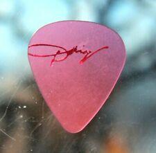 Dolly Parton // Vintage Concert Tour Guitar Pick // Pink/Red Foil