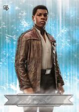Star Wars: Last Jedi Series 2 CHARACTER STICKER Trading Card Insert CS-3 / FINN