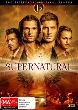 Supernatural Fifteenth and Final Season 15 DVD Region 4