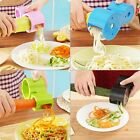 Dual Size Spiral  Vegetable Cutter Ribbon Noodle Slicer Useful Kitchen Tool OE