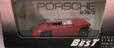 Porsche 908/3 Prova Red 9031 1/43 Best Model Made in Italy