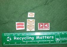 1/6 WW2 British Ox & Bucks Light Infantry OBLI Airborne/Titles/Stripes patch set