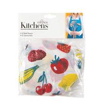 Fox Run 5285 Fruit Bowl Covers Multicolor