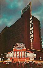 Las Vegas Nv Fremont Hotel Downtown Night View Chrome P/C