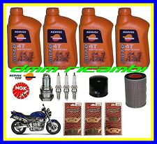 Kit Tagliando HONDA HORNET 600 99 Filtro Aria Olio Candele Pastiglie Freno 1999