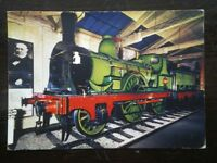 POSTCARD NORTH EASTERN RAILWAY LOCO NO 910 AT THE NRM YORK