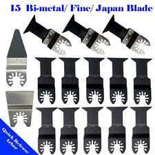 15 Metal/Wood Saw Blade Oscillating Multi Tool Rockwell / Worx Hyperlock Ryobi
