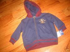 RLB13 NWT 9 mo Ralph Lauren Navy Blue Hoodie Sweatshirt