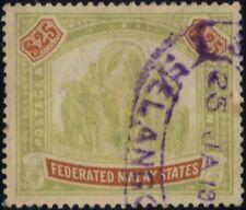 FMS 1900 $25 Isc#25a wmk.Crown CC - fiscal canc @TE17