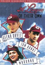 A LEAGUE OF THEIR OWN DVD Tom Hanks Madonna Geena Davis