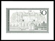 """Foto federal-essay 603 turismo 1969 unverausgabter valor """"Celle"""" Rare!!! e583"""