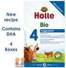 Holle Stage 4 Organic Formula with DHA 4 Boxes 600g Free Shipping