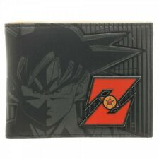 Dragon Ball Z Goku Metal Logo Video Game Bifold Wallet NWT