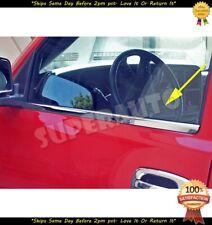 Stainless Polished Chrome Window Sill Kit For 99-06 GMC Trucks Suvs Sierra Yukon