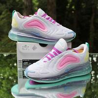 Nike Air Max 720 Aqua Powder Women's Size 10 White Pink AR9293-102