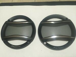 """NEW 1 PAIR OF PIONEER 6 1/2"""" SPEAKERS GRILLS COVERS ONLY, FOR TS-A MODELS"""