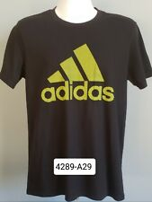 Mens Adidas Short Sleeve Shirt Size M Black Color The GoTo Performance Tee