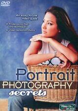 Portrait Photography Secrets dvd photography tutorials