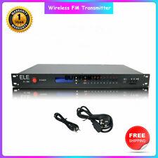 Wireless FM Transmitter Radio Broadcast Transmitter RDS FM Radio EL-30H 15W tzt