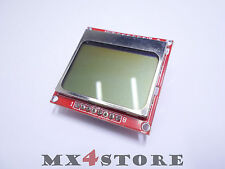 LCD Display Nokia 5110 84x48 PCD8544 Grafik Display grau / weiss Arduino 435