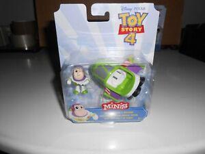 Disney Toy Story Minis Buzz Lightyear & Spaceship Figure Set