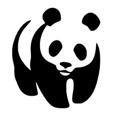 PANDA Vinyl Decal Sticker Car Window Bumper Wall Macbook Bear Cute JDM Exterior