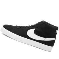 NIKE MENS Shoes SB Zoom Blazer Mid - Black & White - 864349-002