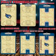 Custom Basketball Clipboard Dry Ease 2 Sided Personalized