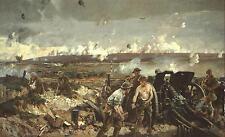 The Battle of Vimy Ridge World War 1 British Army, Art Print 12x7 Inches