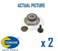 2 x REAR WHEEL BEARING HUB ASSEMBLY PAIR COMLINE OE REPLACEMENT CHA077