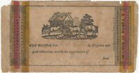 19th Century Cooperstown New York Reward of Merit by H. & E. Phinney Printers