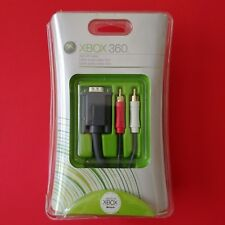 Microsoft XBOX 360 VGA HD AV Cable NIB Factory Sealed   X-MAS GIFT  Electrionics