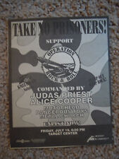 07/19/91 Judas Priest / More @ Target Center, Mpls, Mn (Classic 90s Concert Ad)
