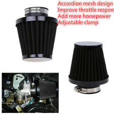 1 Pcs Black Iron Air Filter fit for most Motorcycle with 52/53/54mm Engine Inlet