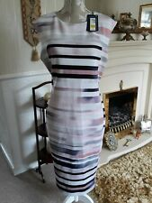M&S womens dress New, wedding,Mother of the bride.cruise,races 16 Next day P&P
