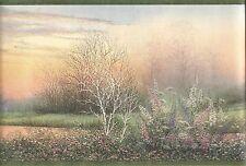 SALE.....15 feet of Dream Weaver Marsh Green Edge Wallpaper Border DW30092B R3B
