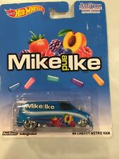 Hot Wheels Chevy Astro Van Just Born Mike & Ike '85
