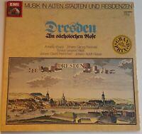 Musik in alten Städten Dresden Vivaldi Heinichen Hasse Pisendel Weiss EMI Stereo