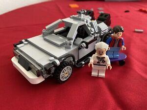 """LEGO Ideas Cuusoo Back to the Future Delorean 21103 100% Complete """"SHEILD"""""""