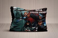 New Gza Genius  Liquid Swords Rap Hip Hop Pillow Case 20x30 Twin Side